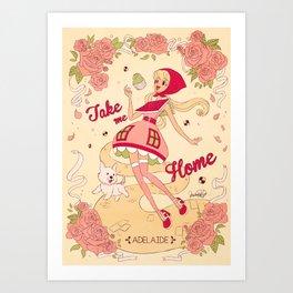 Take me Home - Adelaide Art Print