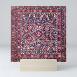 Baluch Khorasan Northeast Persian Bag Face Print Mini Art Print