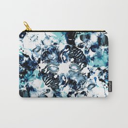 Abstract Marble Tie Dye Carry-All Pouch