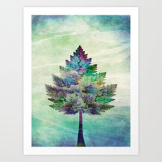 The Magical Tree Art Print