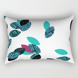 Aztec leafs Ioo Rectangular Pillow