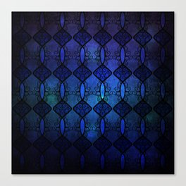 Sapphire Glass Canvas Print