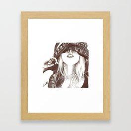 Ingvild Framed Art Print