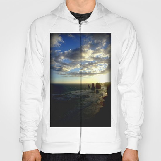 Clouds circling the Twelve Apostles Hoody