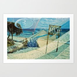 The Red Sea summer vacations Art Print