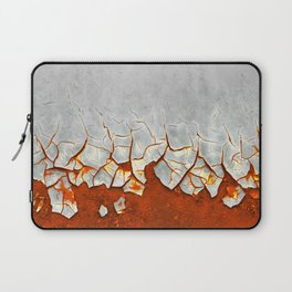 Rust and Grey Laptop Sleeve