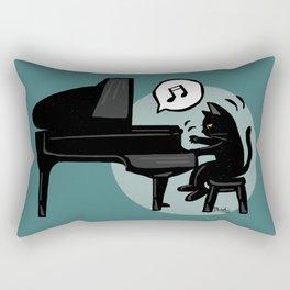Pianist Rectangular Pillow