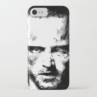 jesse pinkman iPhone & iPod Cases featuring Breaking Bad - Jesse Pinkman by Aaron Campbell