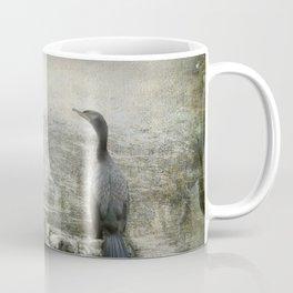 Two Cormorants Coffee Mug