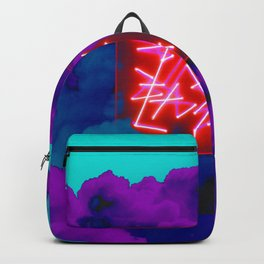 neon clouds Backpack