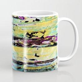 Metallic Abstract Art Coffee Mug