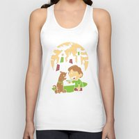 hobbes Tank Tops featuring Shaggy n Scoob by Moysche Designs