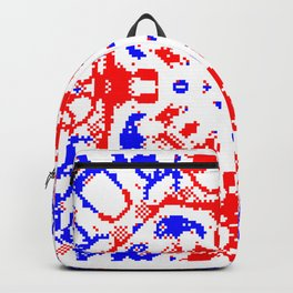 CA Fantasy Red Blue White series #9 Backpack