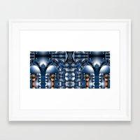 blade runner Framed Art Prints featuring Blade Runner by Robin Curtiss
