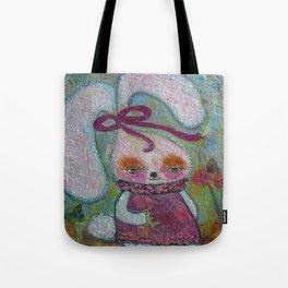 Tabitha Rabbit - Whimsies of Light Children Series Tote Bag