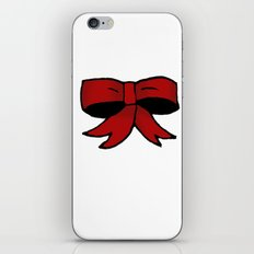 Red Bow iPhone & iPod Skin