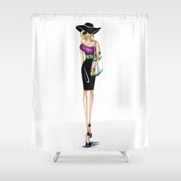 To the Hamptons Shower Curtain