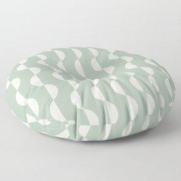 Gwynne Pattern - Sage Green Floor Pillow
