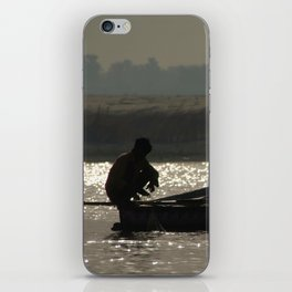 Perched on a Boat iPhone Skin