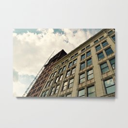 Clouds & city scapes Metal Print