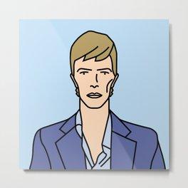 David Bowie – The Little Drummer Boy Metal Print