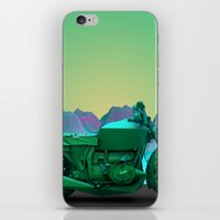 motorbike iPhone & iPod Skins featuring motorbike by zKrajnc