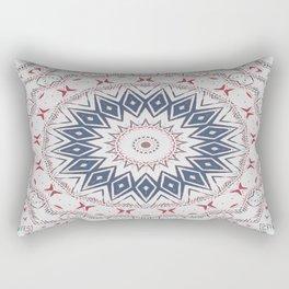Dreamcatcher Berry & Blue Rectangular Pillow