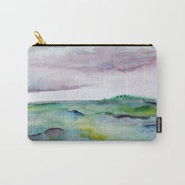 """""""337"""" abstract watercolor landscape Carry-All Pouch"""