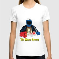 elmo T-shirts featuring Too Many Cookies by Shawn Hall Design