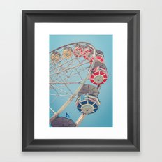 The Ferris Wheel 2 Framed Art Print
