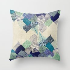 Leaf it to me Throw Pillow