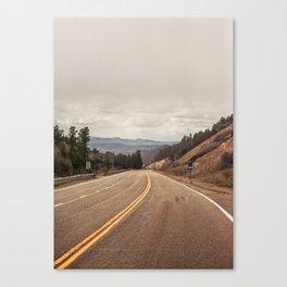 The Longest Road Canvas Print