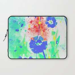 Dreaming In Blue 100zf by Kathy Morton Stanion Laptop Sleeve