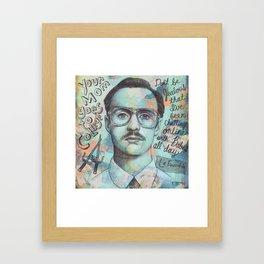 Kip - Don't Be Jealous Framed Art Print