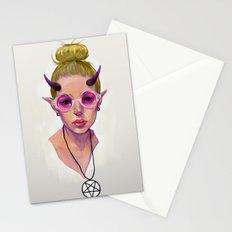 Monster Girl #3 Stationery Cards