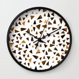 Amber dance Wall Clock
