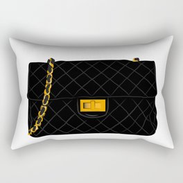 The quilted bag Rectangular Pillow