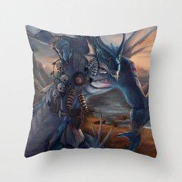 Curse Catcher Throw Pillow