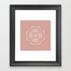 First Heart Framed Art Print