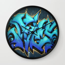 Graffiti 1 Wall Clock