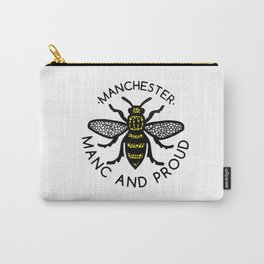 Manchester Bee Manc And Proud Carry-All Pouch