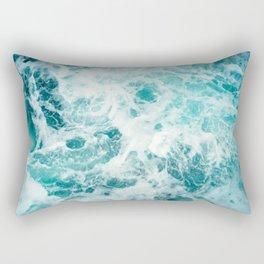 Ocean Sea Waves Rectangular Pillow