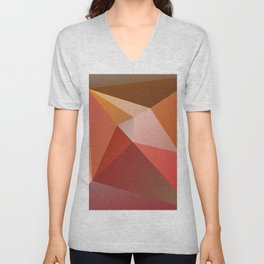 Abstract Composition 683 Unisex V-Neck