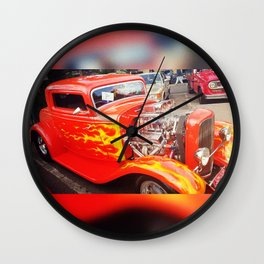 Hot Rod 1932 Wall Clock