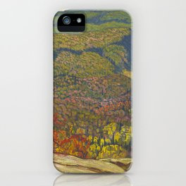 J.E.H. McDonald Forest Wilderness, 1921, McMichael Canadian Art Collection iPhone Case
