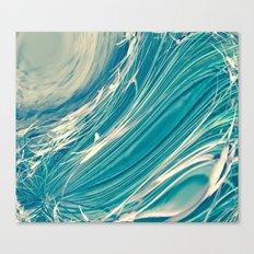 Neptune's Wild Ocean Canvas Print