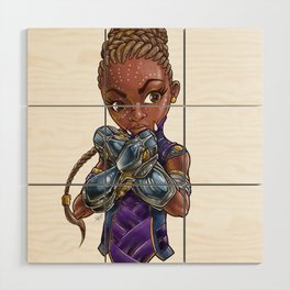 Princess of STEAM Wood Wall Art