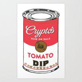 Crypto's : Buy the Dip Art Print