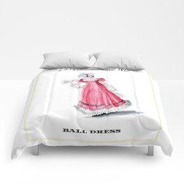 Fashion Plate 1819, Regency England Comforters