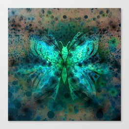 Butterfly Abstract G541 Canvas Print